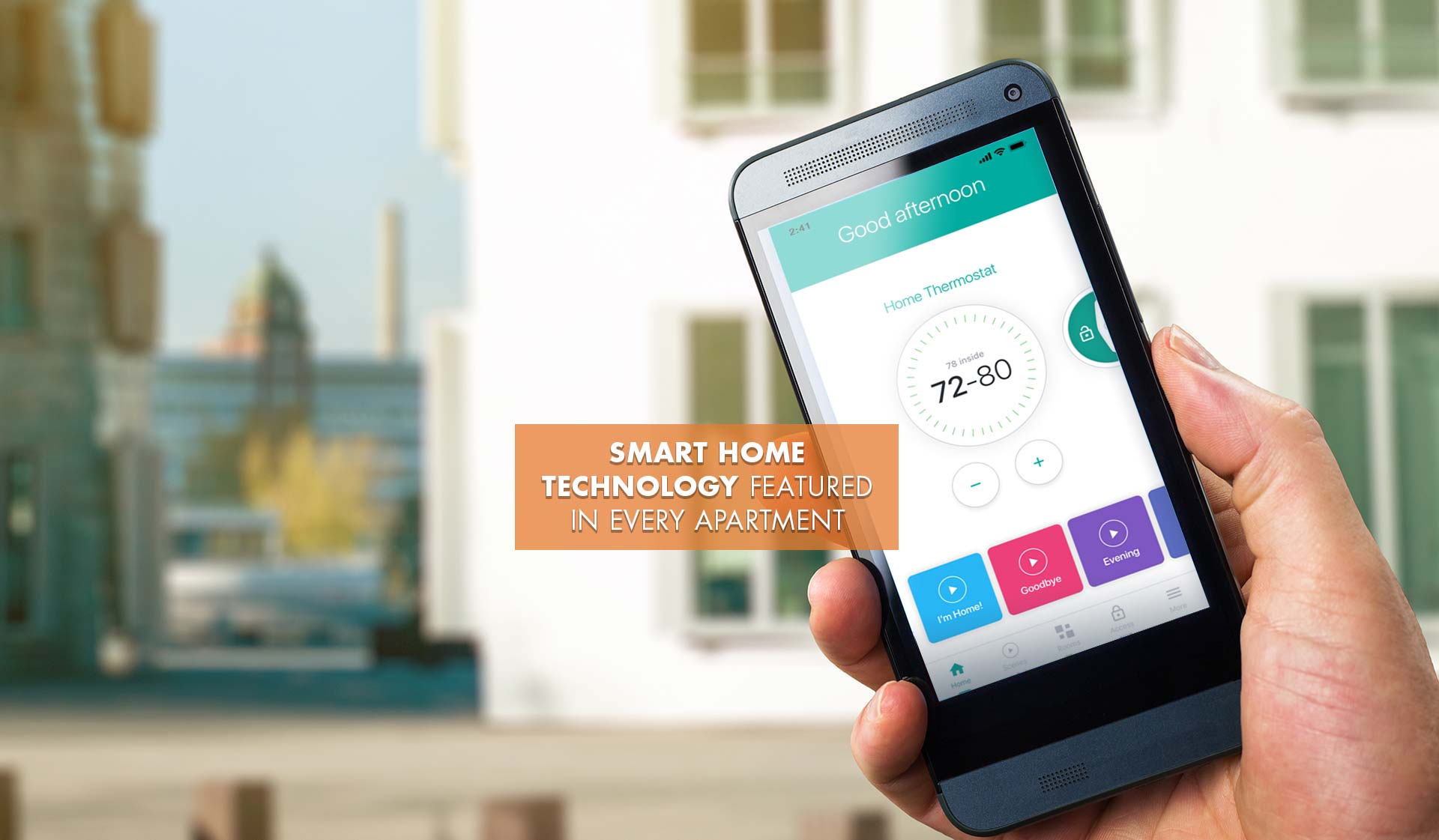 Palazzo East - smart home tech