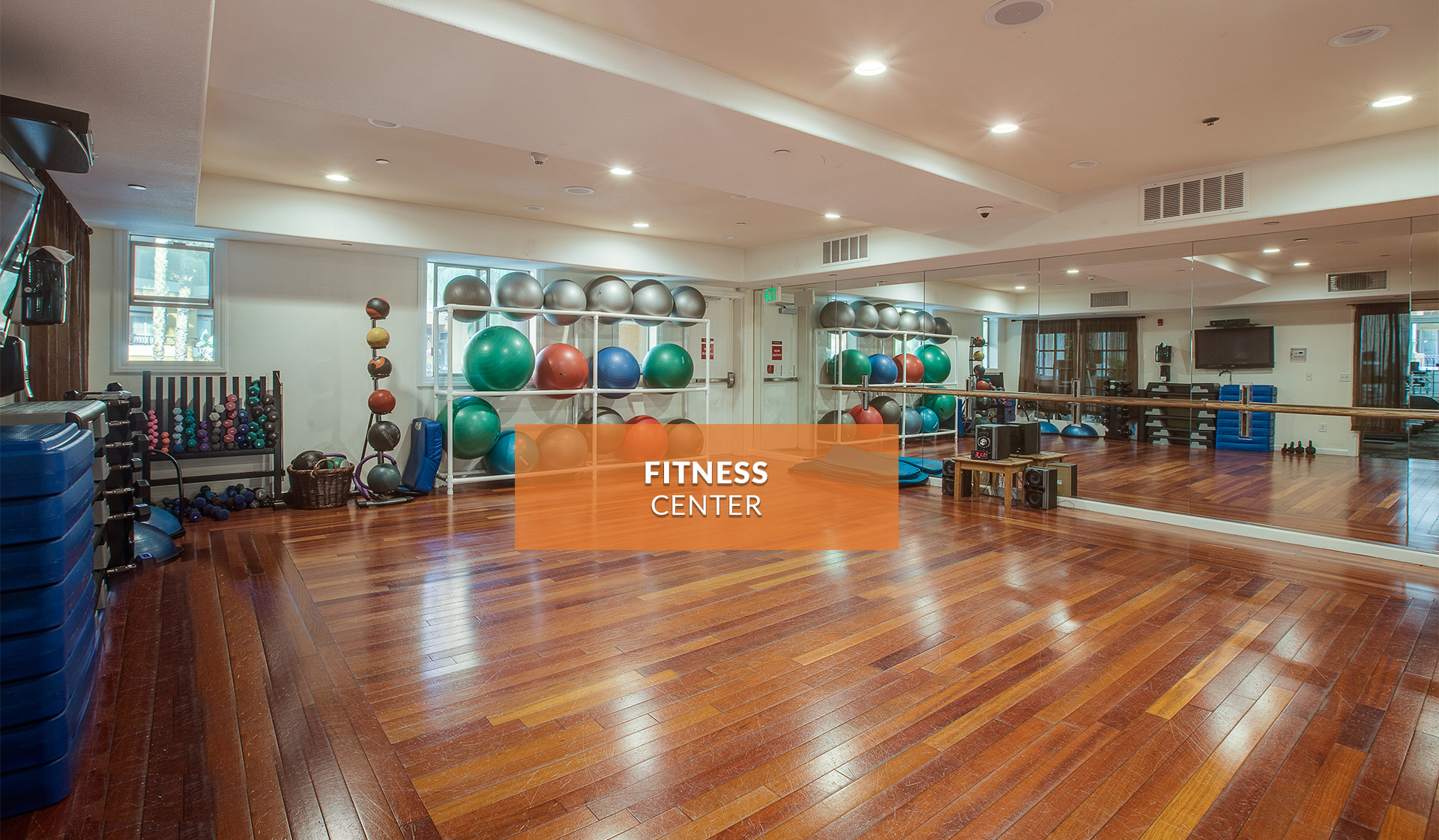 Palazzo East - fitness center